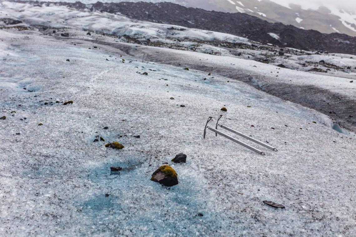 Falljökull glacier tongue