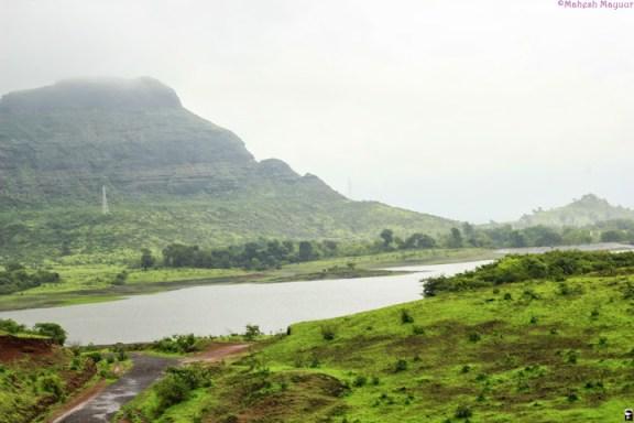Igatpuri, Lake, Mountain and Mist