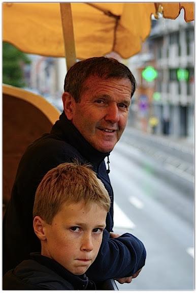 Roger De Vlaeminck en zoon Eddy