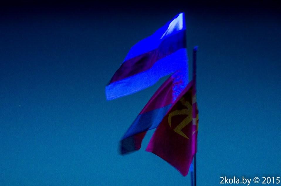 флаги Беларуси на Доброфест-2015