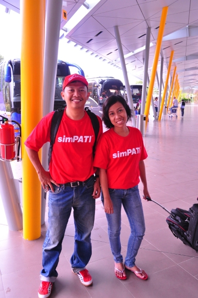 Di Changi Airport