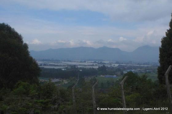 Vista Sur-occidente desde el Cerro La Conejera