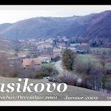 JASIKOVO -2001-2002