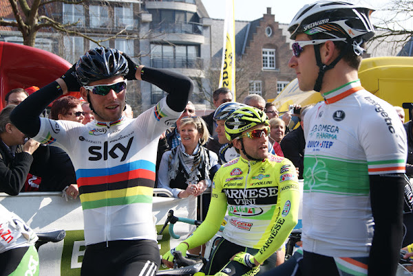 Mark Cavendish en Matt Brammeier