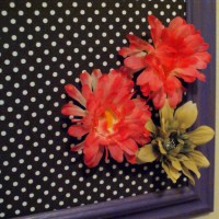 Polk~a~dot pin board (DIY)