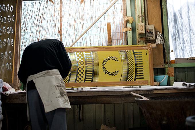 #藝術家高橋理子嶄新水玉線條呈現:FRED PERRY日本傳統手工拭巾 2
