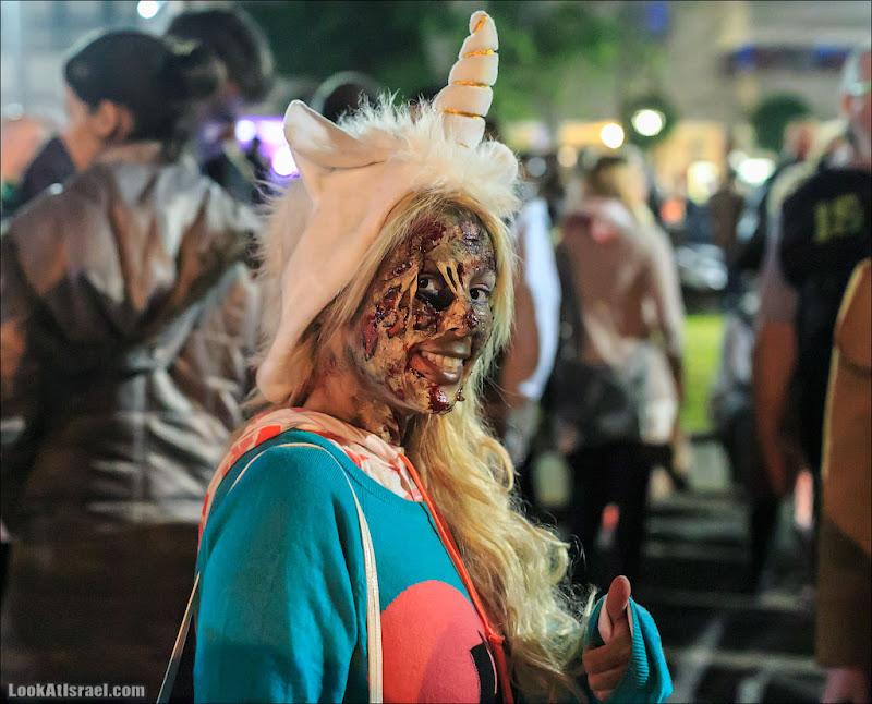 Парад зомби в Тель Авиве - Zombie Walk TLV 2013