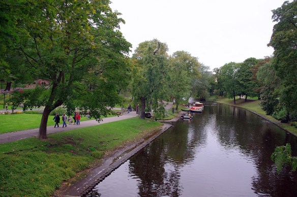 Qué ver en Riga. Canal Pilsetas, Riga
