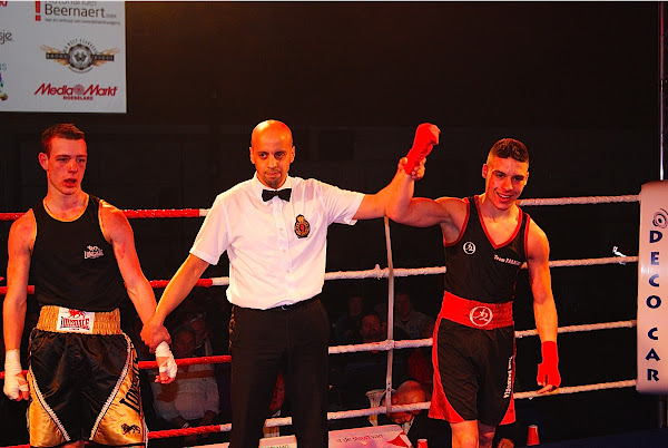 Abdelsemi Souli wint van Cisse Haelewyn
