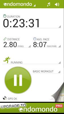 *推薦的運動健身紀錄好助理 :Endomondo Sports Tracker (Android App) 1