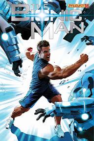 BionicMan16-Cov-Mayhew Dynamite Entertainment November 2012 Solicitations