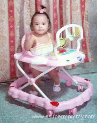 Enfant Baby Walker Pink