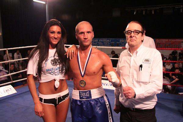 Overwinning Kobe op boksmeeting Harelbeke