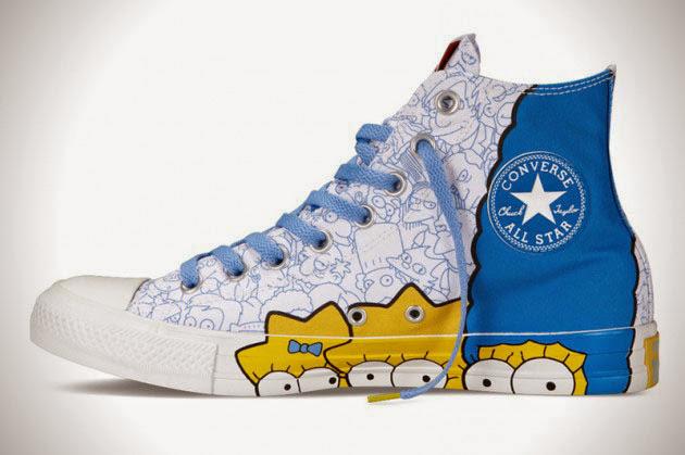 *The Simpsons x Chuck Taylor All Star:辛普森家族這次不吃甜甜圈! 6