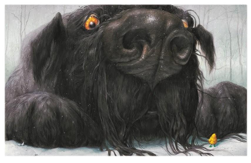 Perro-negro-cuento-libro-album-ilustrado-nubeocho-ilustracion