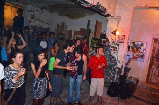 קהל, ריהאב ספייס ג'אם, מתחילים. צילום: יובל אראל