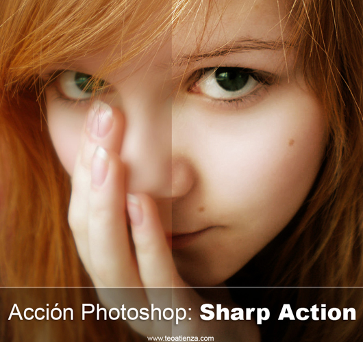 Sharp action nitidez na foto