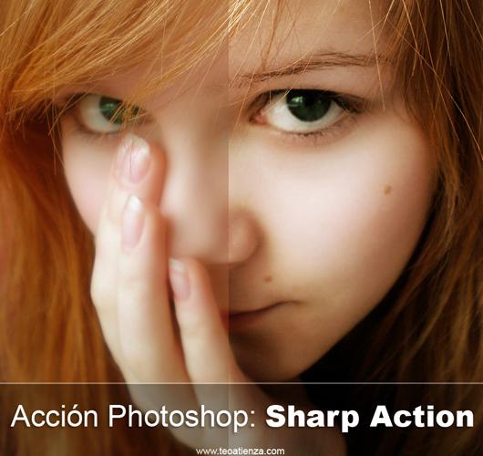 Sharp action nitidez na foto
