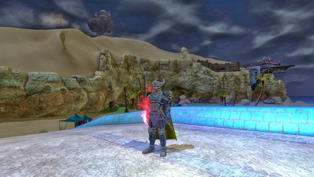 Everquest 2 Knight's Nebulous Plate