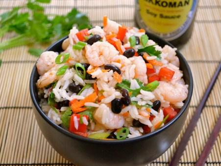 Cheap Eats: Shrimp & Rice Salad