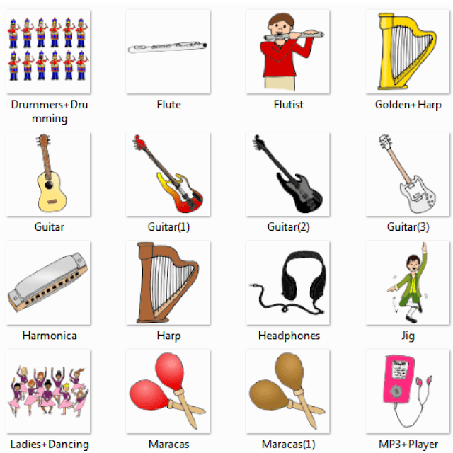 Musical Instruments Names With Names And Pictures Online