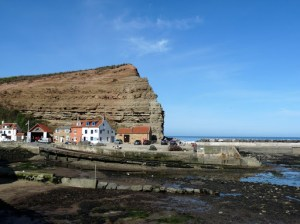 Typical scene of Staithes