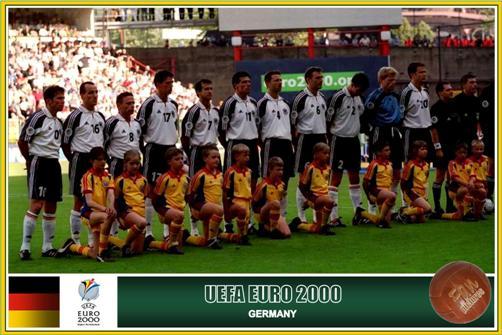 2000: Germany – Romania 1-1 (1-1)   Germany's / Deutschlands  Nationalmannschaft