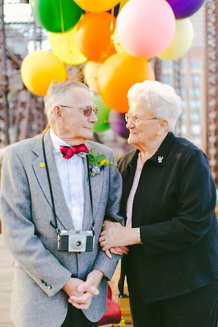#相伴走過一甲子歲月:可愛老夫妻以『天外奇蹟』為靈感拍攝周年紀念照 11