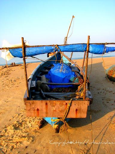 Fishing Boat at Vengurla Beach