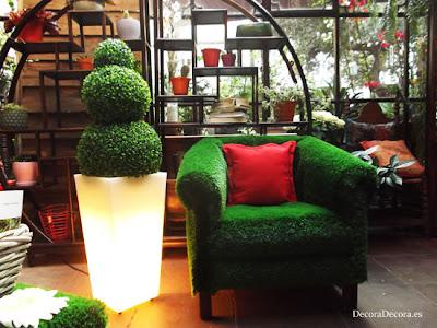 El Jardín del Ángel decorado con Ideas Con Vida de Leroy Merlin.
