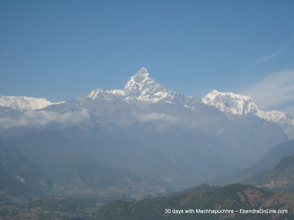 One of the coolest pictures of Machhapuchhre, I liked the most
