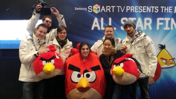 Samsung Angry Birds All Star Final - Tower Bridge Team