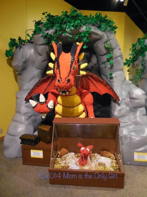 LEGO Dragon http://www.momistheonlygirl.com