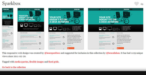 responsive web design sample