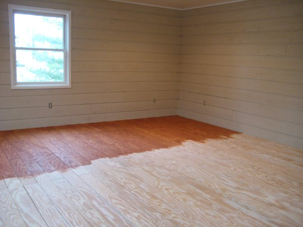 Painting Plywood Floors Look Hardwood