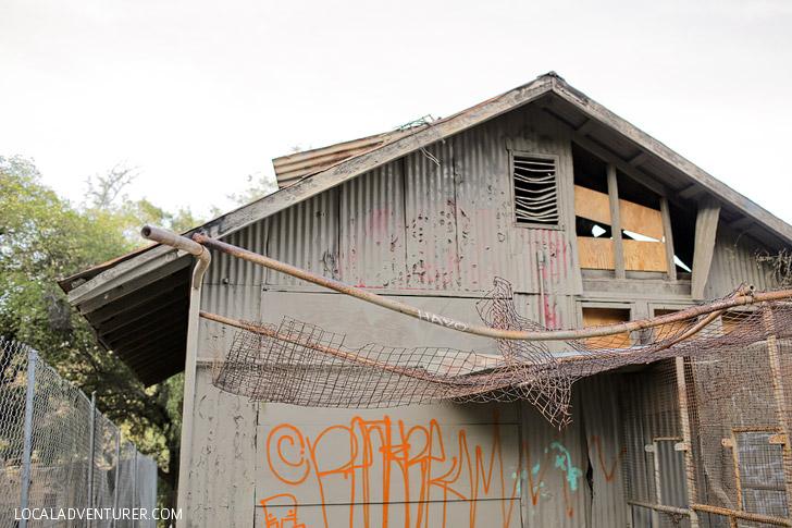 Abandoned Zoo Los Angeles.