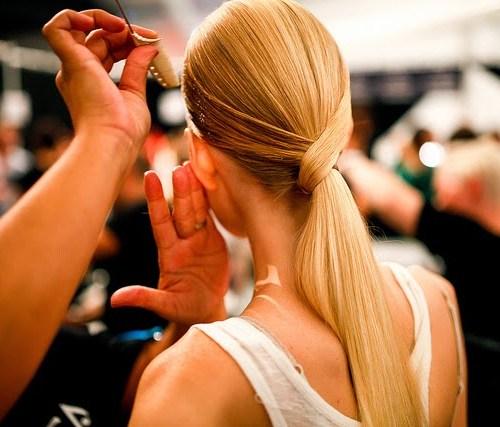 Sleek Hairstyle for Blonde girls