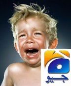Geo News Crying like a baby