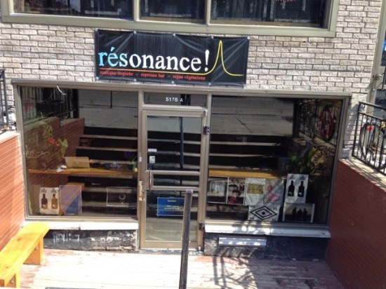 Café Résonance resto vegan