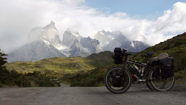 Bicycles below El Chalten
