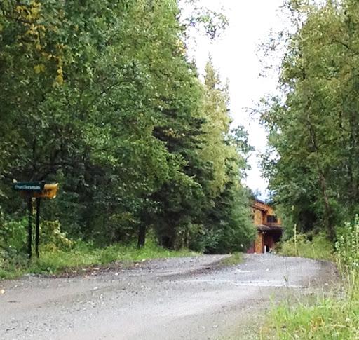 Sarah Palin's house in Wasilla, Alaska