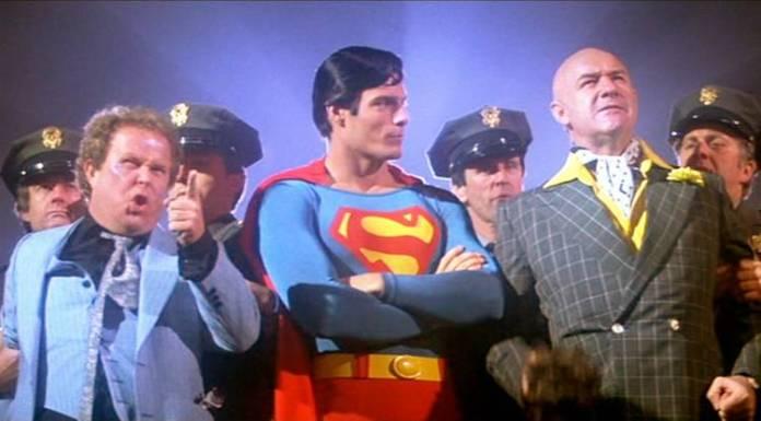 Gene Hackman junto a Christopher Reeve en la originaria Superman