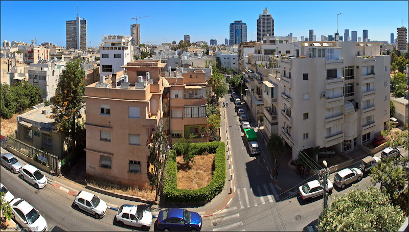 Фото: Панорама: Тель Авив с крыши Бейт ха-Ир