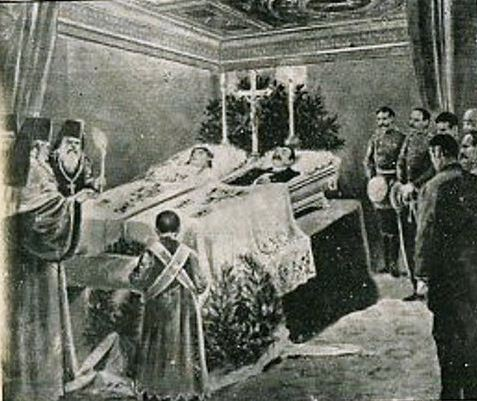 Franz Ferdinand And Sophie Funeral