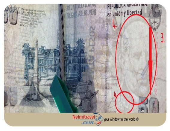 money tips; travel tips; fake money in argentina; fake pesos; safety; security; counterfeit