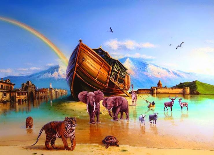 Ной спасал тварей