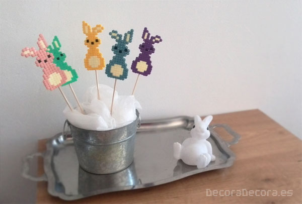 Idea para decorar en Pascua