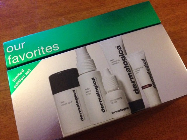 The Our Favorites gift set from Dermalogica featuring mini-products