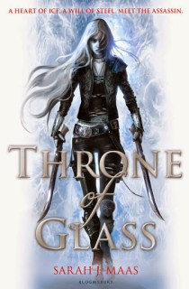 Throne of Glass by Sarah J. Mass UK book cover