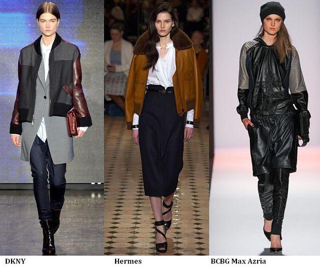 Trendovi: Bomber kožna jakna za jesen
